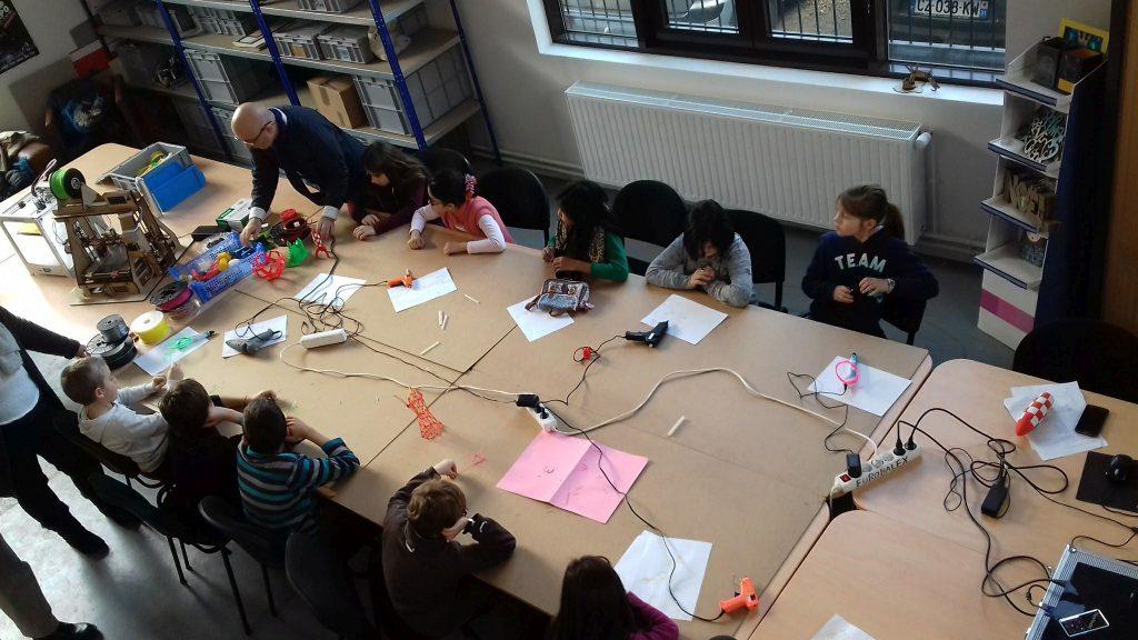 Un atelier scolaire
