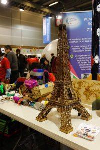 Tour Eiffel à la découpeuse laser