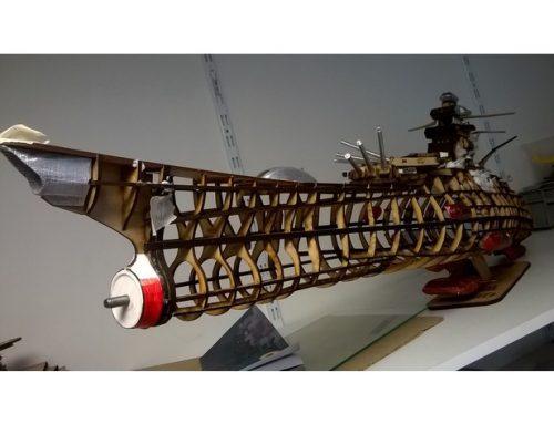 cuirassé spatial Yamato 1/250